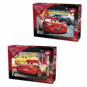 ΠΑΖΛ 50 ΤΕΜ CARS  King International 5288