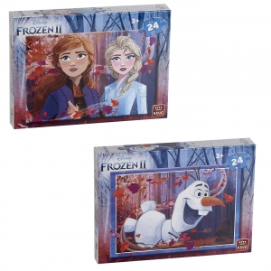 ΠΑΖΛ 24 ΤΕΜ FROZEN II 18x25cm King International 55815