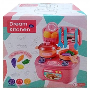 ΚΟΥΖΙΝΑ DREAM KITCHEN 19x19x12cm ToyMarkt 971076